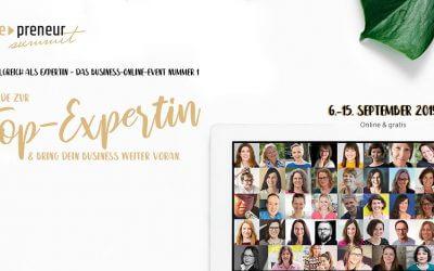 She-Preneur Summit 2019 – Interview mit Tanja Lenke