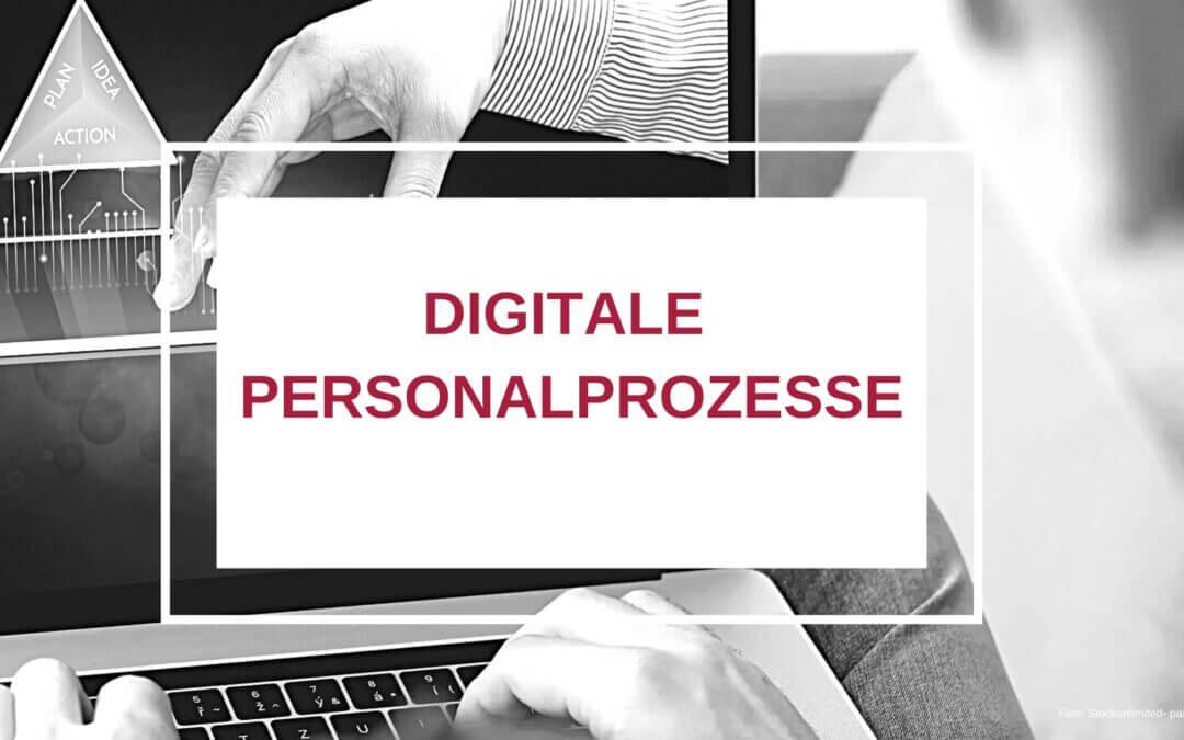 Digitale Personalprozesse