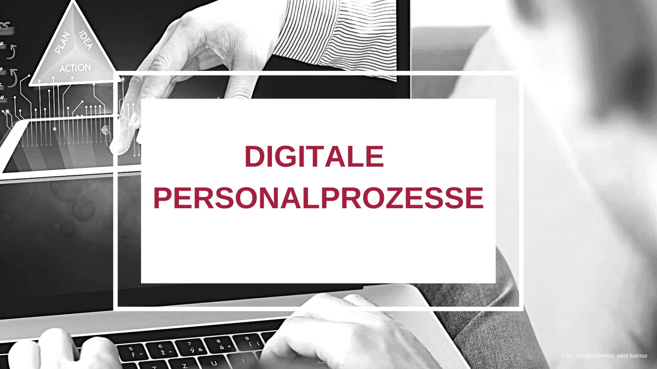 Digitale Personalprozesse HR konkret