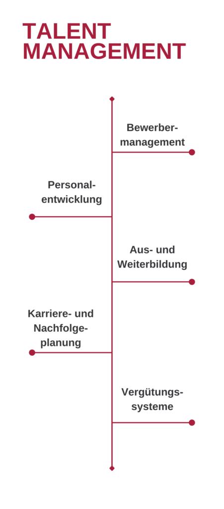 Schaubild Talent Management HR konkret