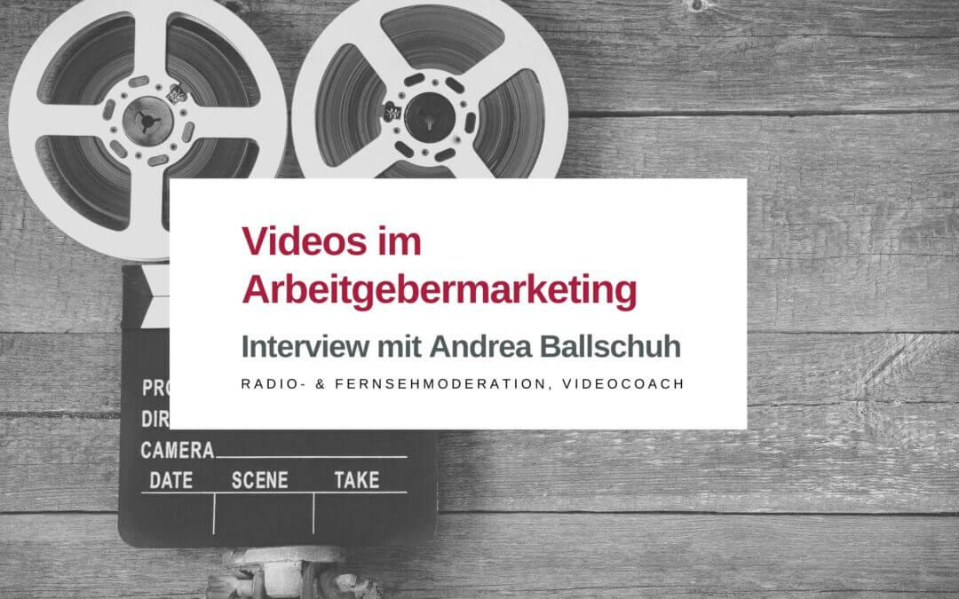 Videos im Arbeitgebermarketing
